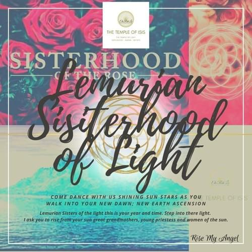 Lemurian Sisterhood of Light Training and Coaching Program 2021-2022