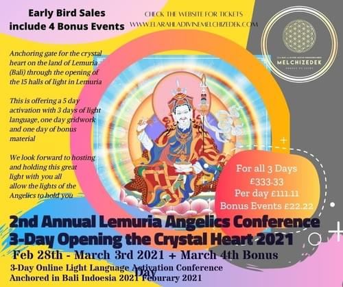 Lemurian Angelics Conference 2021 - Opening the Crystalline Heart (beat)