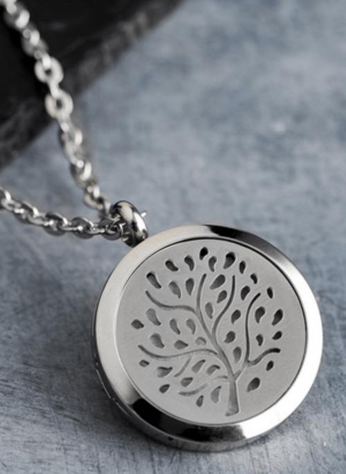 Aromatherapy inhaler pendant