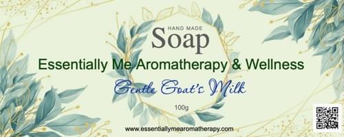 Luxury hand made gentle goat's milk soap