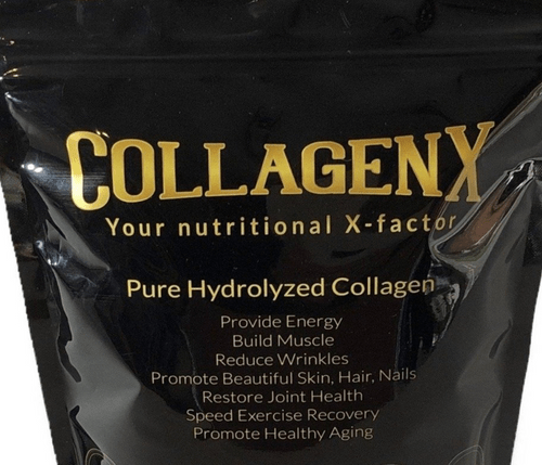 CollagenX Pure Hydrolysed Collagen type 1 and 111