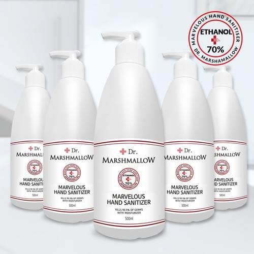Large Hand Sanitizer Bottle (Minimum Order: 30,000)