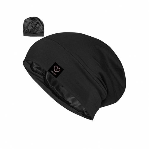 The Adjustable Sleep Beanie Cap - set of 2