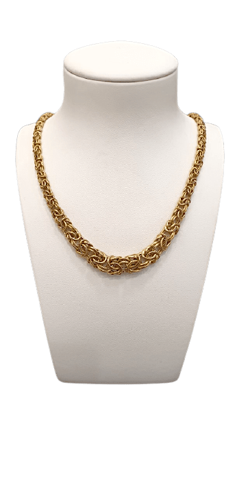 "Collier Or "" Maille Royale"""