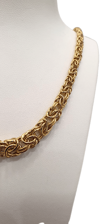 """Collier Or """" Maille Royale"""""""