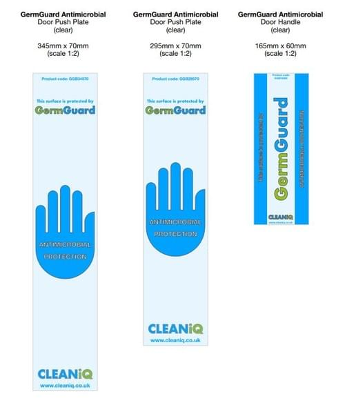 GermGuard Antimicrobial Surface Touch Guard (for door handles and door push plates)