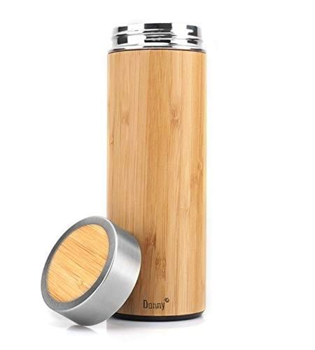 Thermos bambou isotherme - 400 ml
