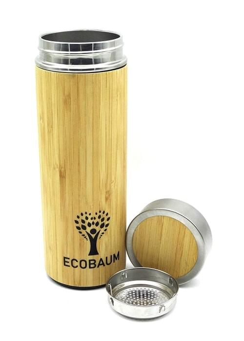 Thermos en Bambou isotherme - 500ml - Ecobaum