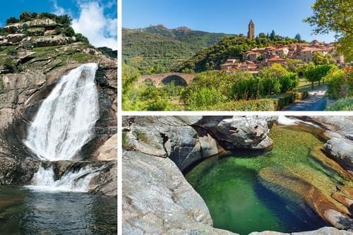 Excursion dans le massif du Caroux : gorges, cascades & villages (Montpellier - 34)