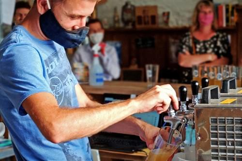 Visite de la brasserie Petit Caboulot : bières artisanales bio (St Christol - 34)
