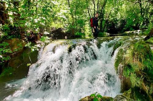 Randonnée les pieds dans l'eau (Saint-Jean-de-Buèges - 34)