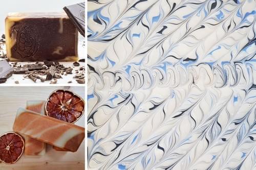 Atelier DIY saponification : découverte des techniques de marbrage (Montpellier - 34)