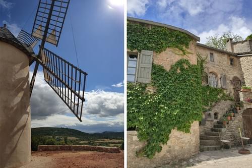 Excursion villages médiévaux : Pézenas & la Couvertoirade (avec transport depuis Montpellier - 34)