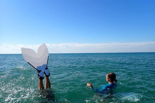 Initiation à la nage monopalme ou comment devenir une sirène (La Grande-Motte - 34)