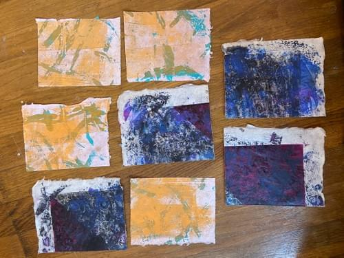 Scrap Pack - Night and Day Monotypes
