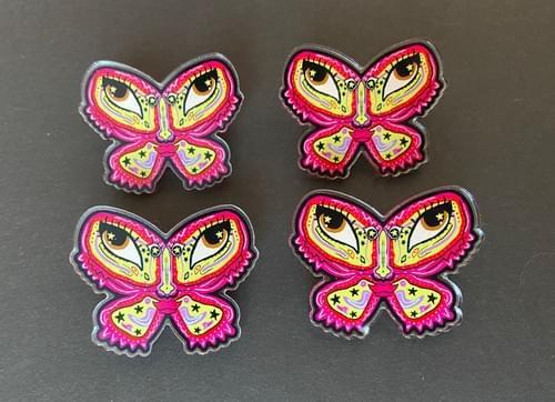 SourSweet Mothie Acrylic Pin