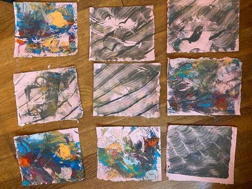 Scrap Pack - Handmade Paper + Prints