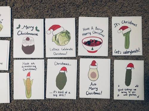 5 Pack of Holiday Cards