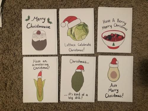 10 Pack of Holiday Cards