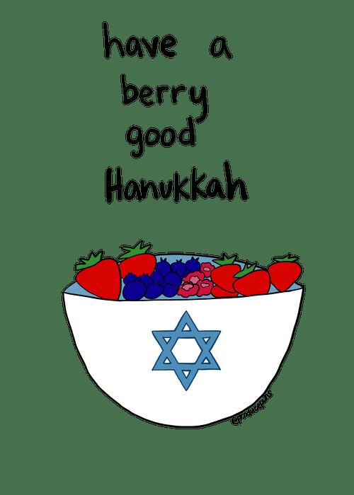 Have a Berry Good Hanukkah