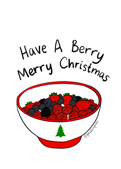 Have a Berry Merry Christmas
