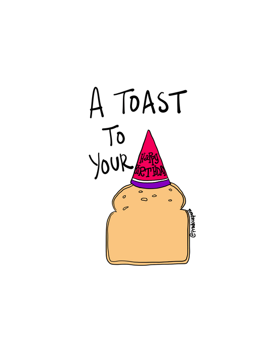 A Toast To Your Birthday
