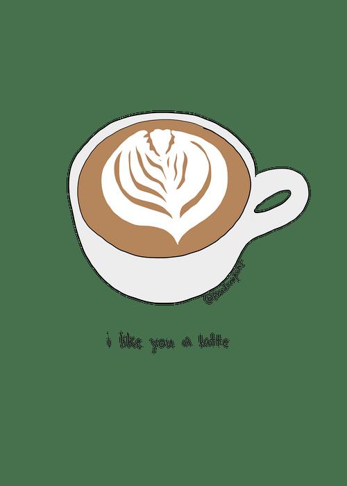 I Like You A Latte (LF042)