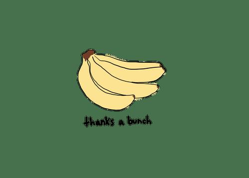 Thanks A Bunch (Bananas) (TU003)