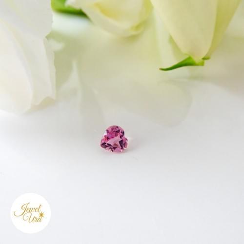 《ルース》ハートカットのピンクトルマリン