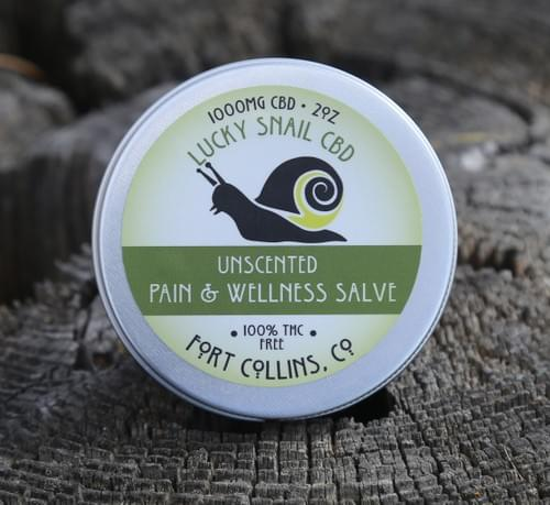 Unscented Pain & Wellness Salve