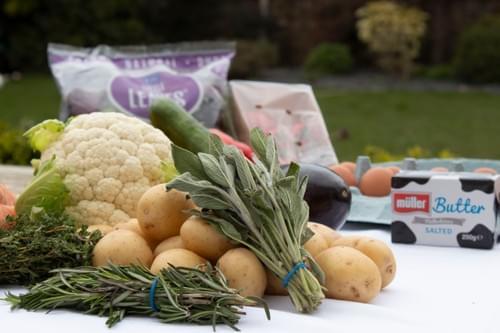 Medium Fruit & Veg Box with Essentials