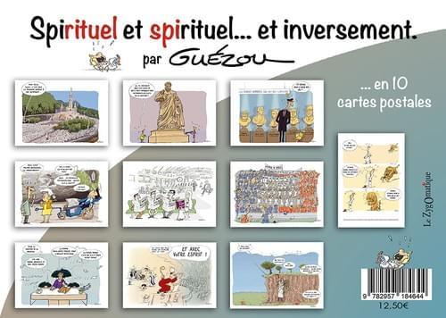 Pochette « Spirituel et Spirituel... et inversement » -  Dessins de Guézou.