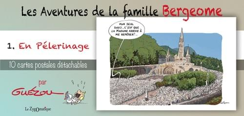 """Booklet's Collection -  """"The Adventures of the Bergeome's Family""""  - N°1 - On Pilgrimage. By Guézou"""