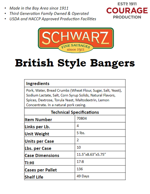 British Bangers