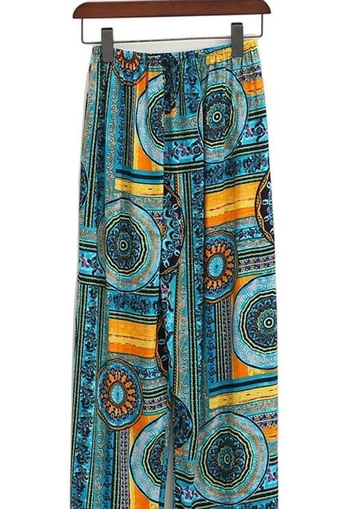 Women wear oversized cotton pants fashion pattern trendy style free size