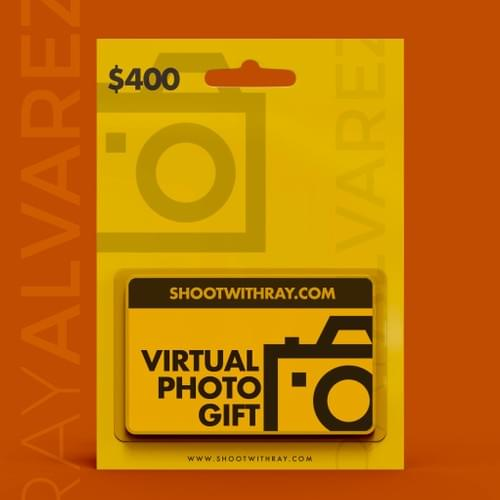 $400 Photo Gift Card