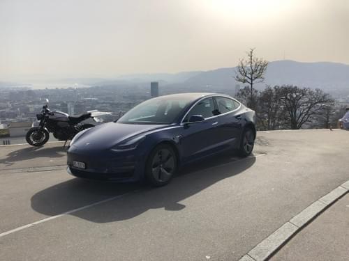 2020 Model 3 Long Range - Blue - ab 24. August verfügbar