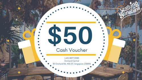 $50 Cafe Cash voucher