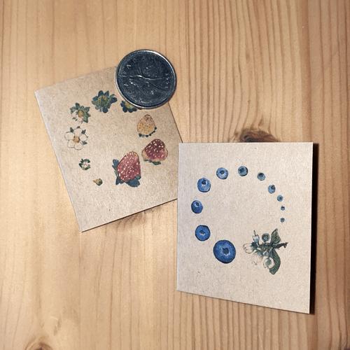micro greeting cards
