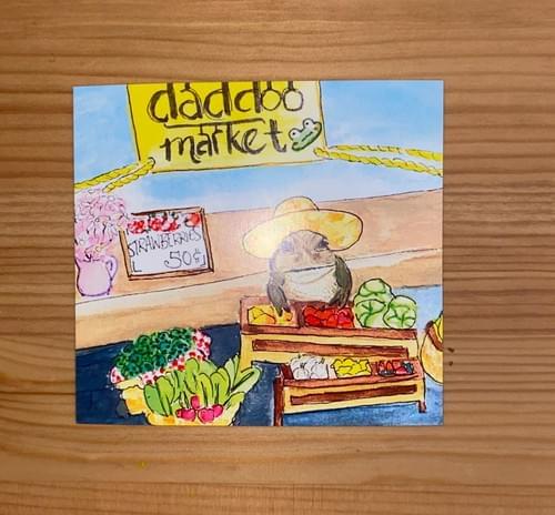 frog market mini print