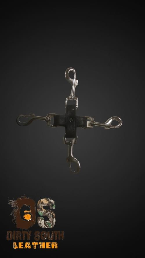 Hog Tie Connector with Clips