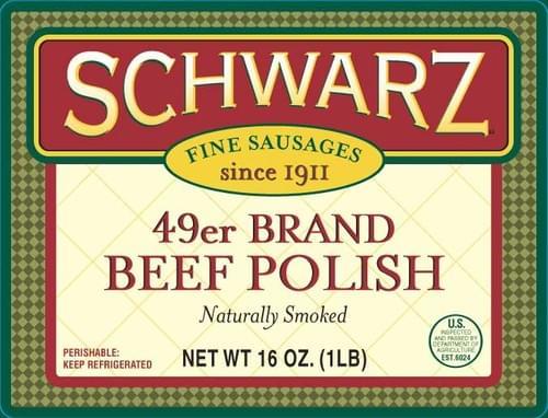 Schwarz 49er Brand Beef Polish