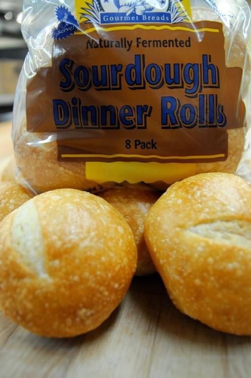 Raymond's Gourmet Sourdough Brown and Serve Bread - Dinner Rolls