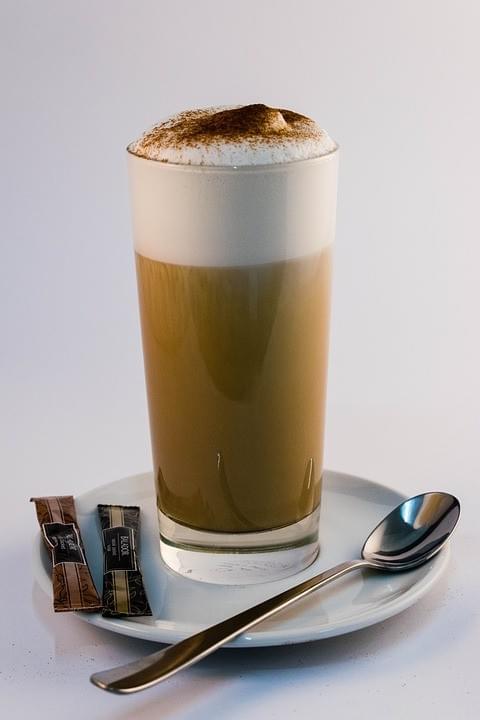 Cafe Latte single or double 12 oz (extra medium)
