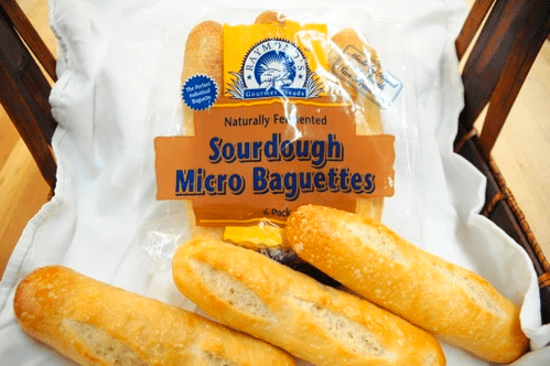 Raymond's Gourmet Sourdough Brown and Serve Bread - Micro Baguettes