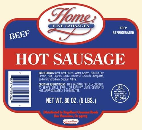 HOME Hot Sausage