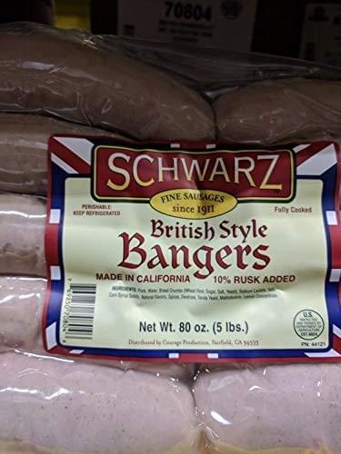 Schwarz British Bangers