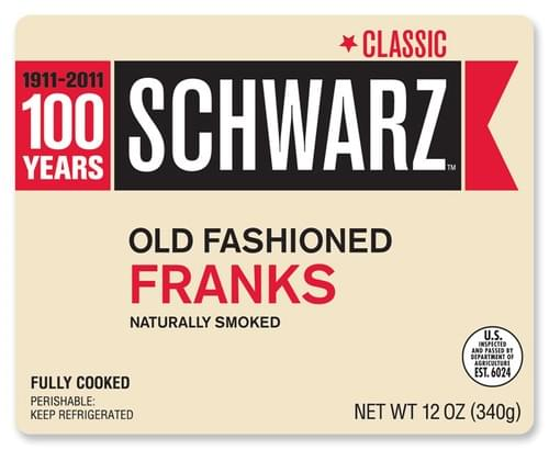 Schwarz Old Fashioned Franks