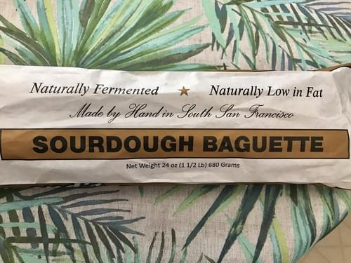 Raymond's Gourmet Sourdough Brown and Serve Bread Baguettes
