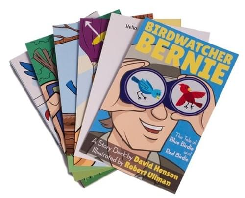 Bird Watcher Bernie Story Deck™ - The Tale of Blue Birdie and Red Birdie